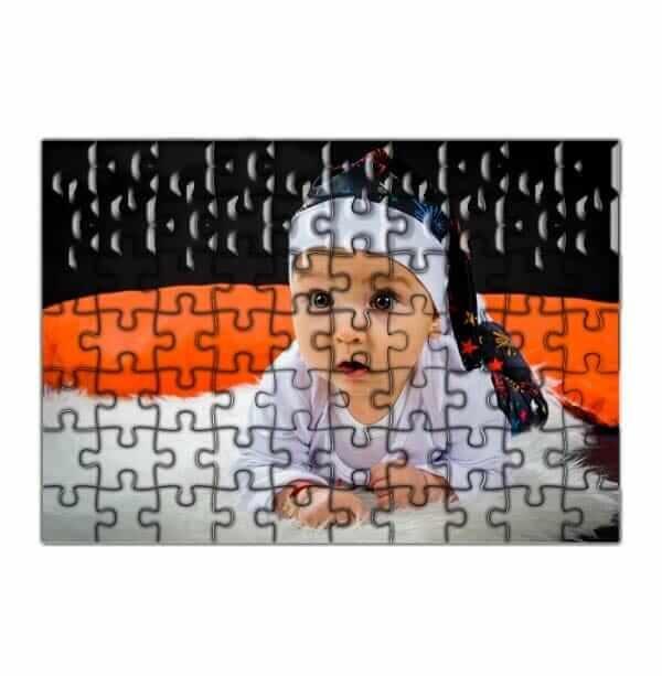Puzzle personalizzato tasselli piccoli