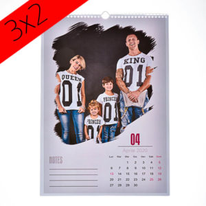 Calendario mensile personalizzato