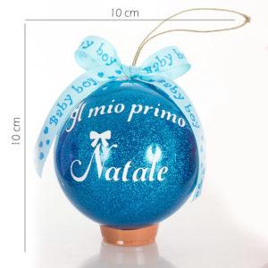 Pallina di Natale Glitterata