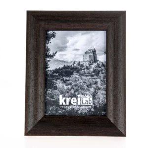Cornice portafoto artigianale in legno MOD 140
