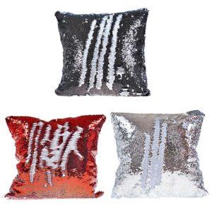 Cuscino paillettes personalizzato