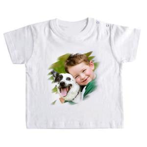 Maglietta neonato 6 mesi personalizzata