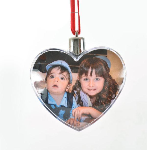 Pallina di natale personalizzata cuore