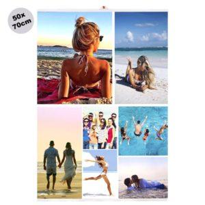 Foto Poster Collage 50x70cm personalizzato . Max 20 foto. stampa su carta foto. Kreilab Avigliana torino. Rendi unico il tuo collage.