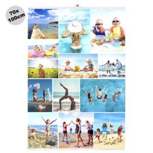 Foto Poster Collage 70x100cm personalizzato
